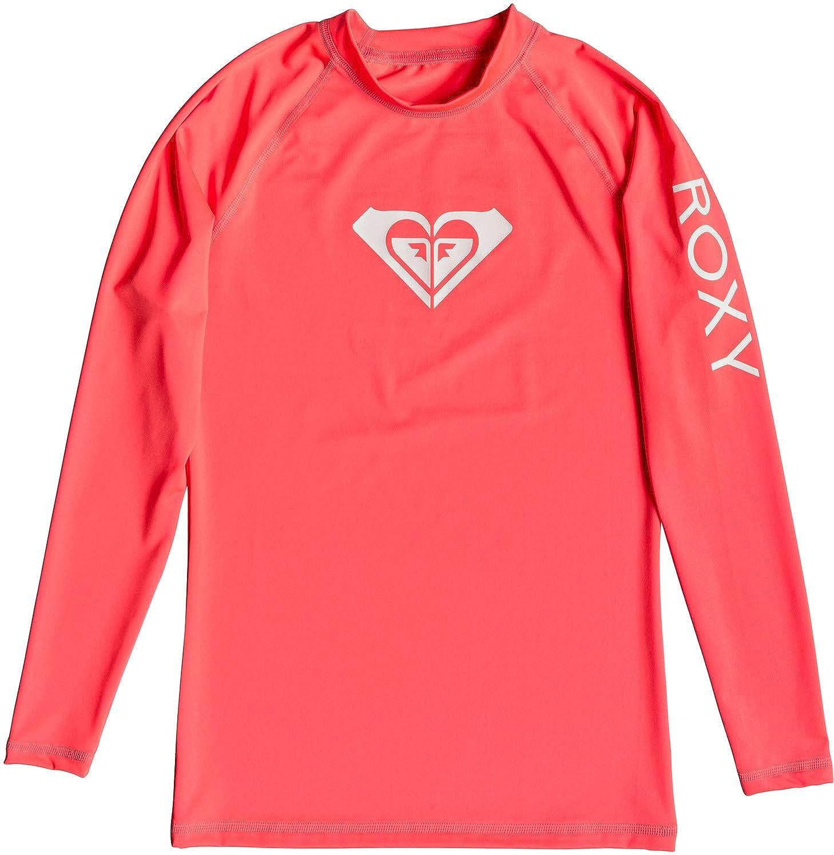 Roxy Whole Hearted-Rash Vest UPF 50 A Maniche Lunghe da Donna