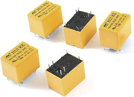 1a ultra-miniature Pcb relés 5v Bobina
