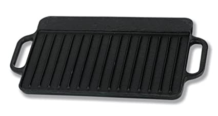 IMUSA USA CORONA-189Y Preseason Reversible Griddle, 12.5-Inch, Black