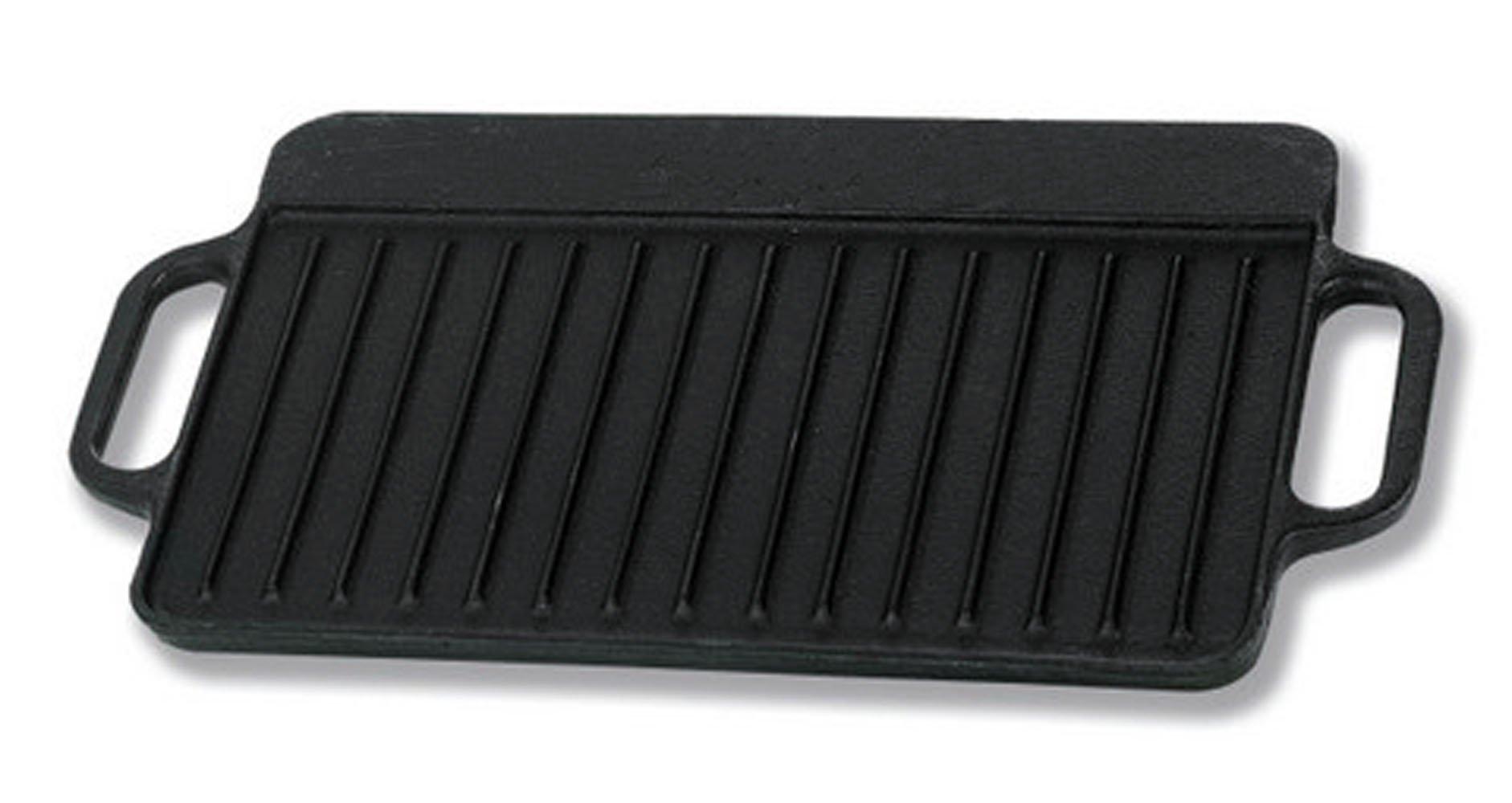 IMUSA USA CORONA-189Y Preseason Reversible Griddle, 12.5-Inch, Black