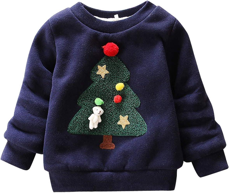 Happy Cherry - Sudadera Niños Navidad Ropa Infantil con Estampado ...