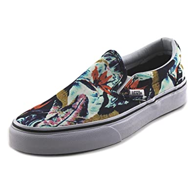 Classic Slip-On Women US 7 Multi Color Skate Shoe