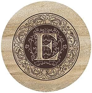Thirstystone Sandstone Trivet Monogram E