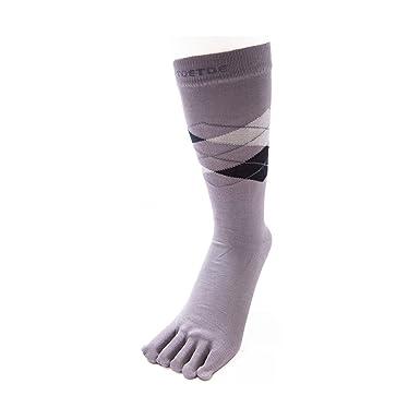 TOETOE - ESSENTIAL - Calcetines de dedo de pie para hombre (UK 7 – 13