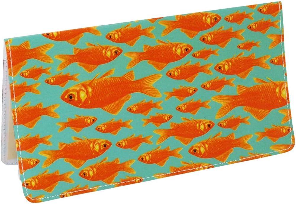Goldfish Checkbook Cover