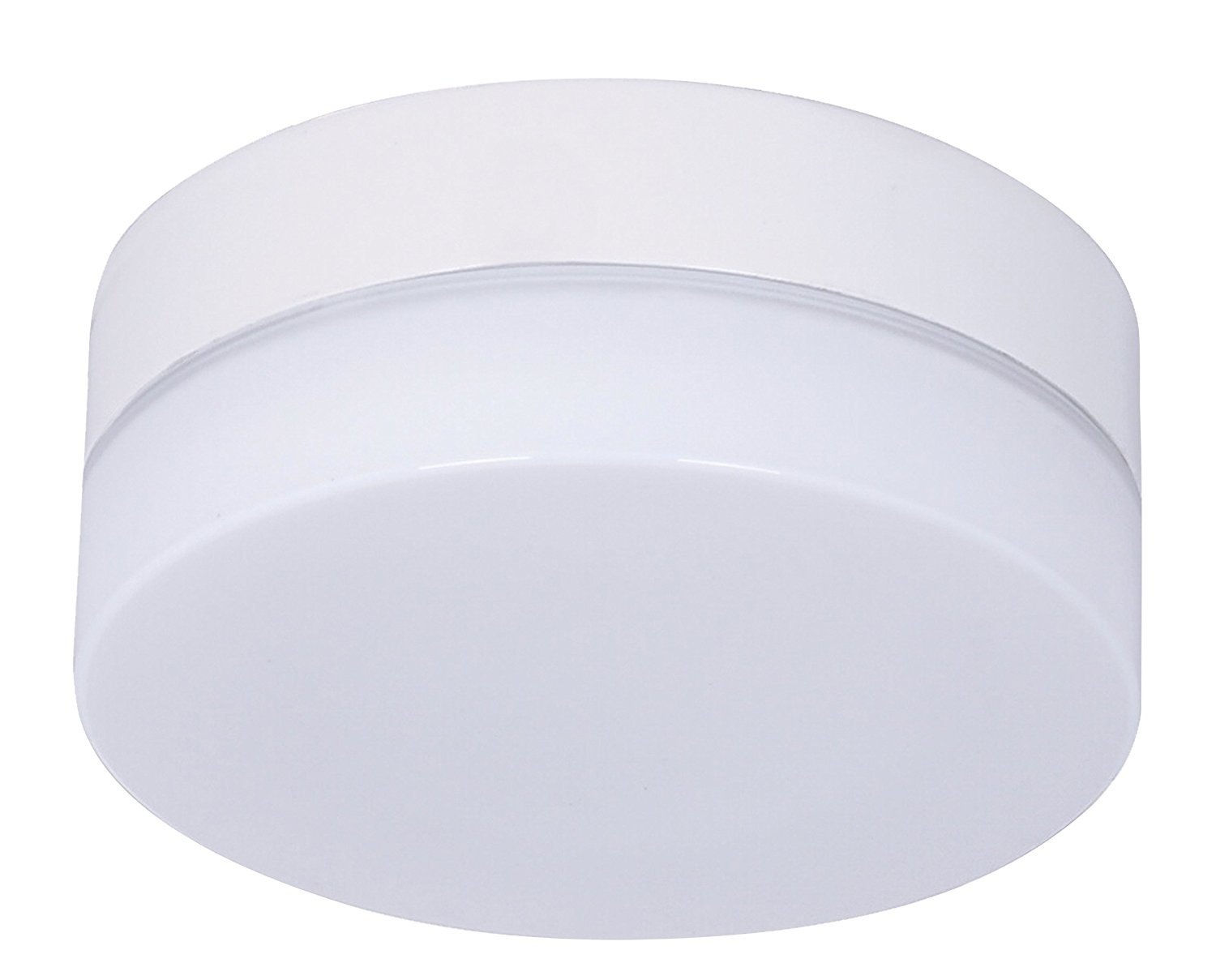 Lucci Air 21024901 Climate Glass Fan Light GX53, White by Beacon Lighting