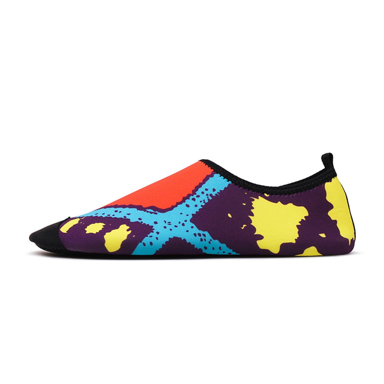 Coac3 Men Water Shoes Women Outdoor Beach Shoes Barefoot Skin Shoes Unisex Flat Size 35-44 B07D5BZRLY 41 M EU|Orange