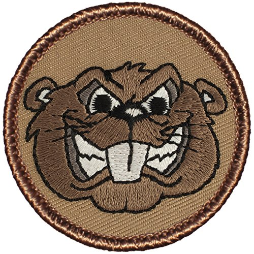 Angry Beaver Patrol Patch - 2