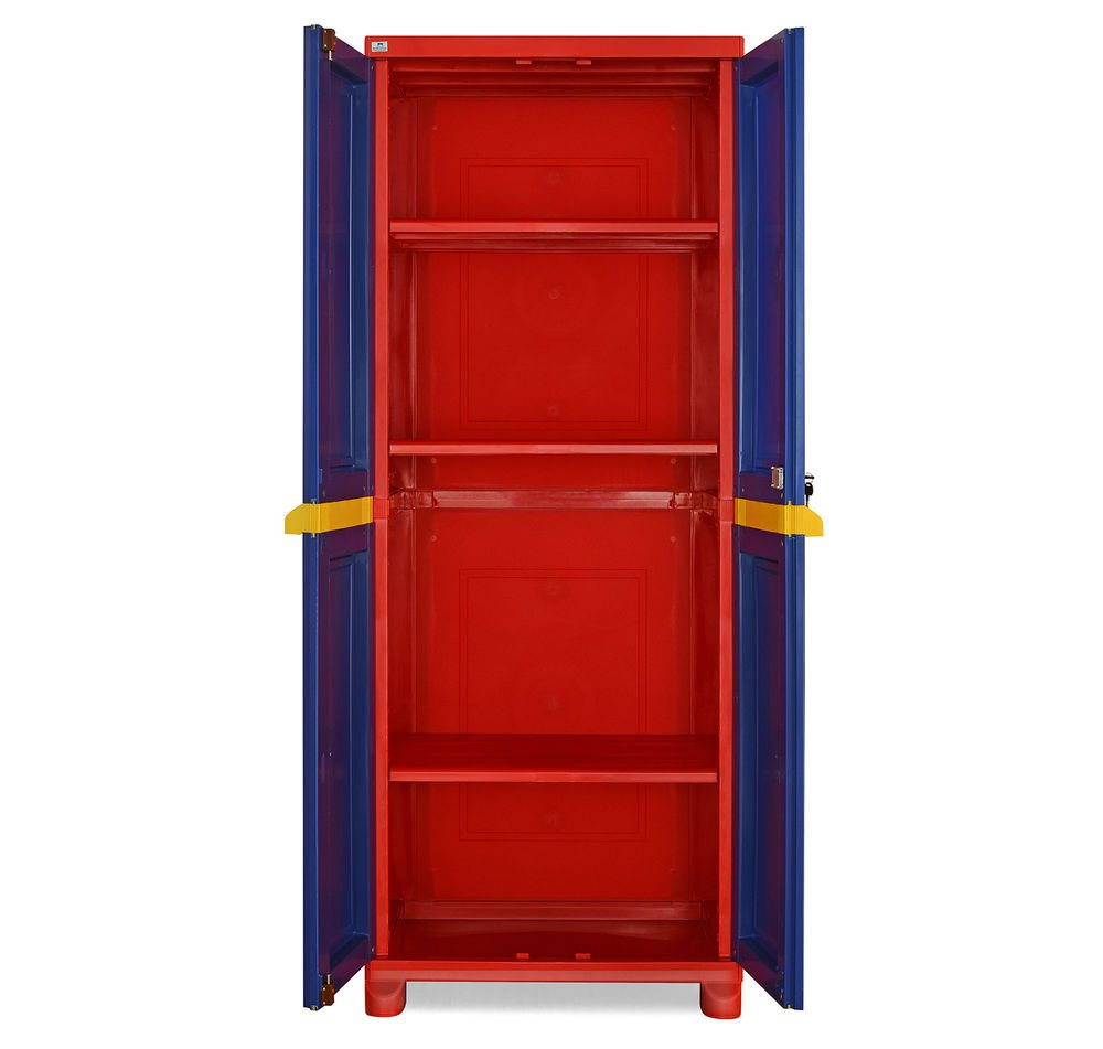 Nilkamal Freedom Big Cabinet without Mirror (Blue): Amazon.in: Home ...