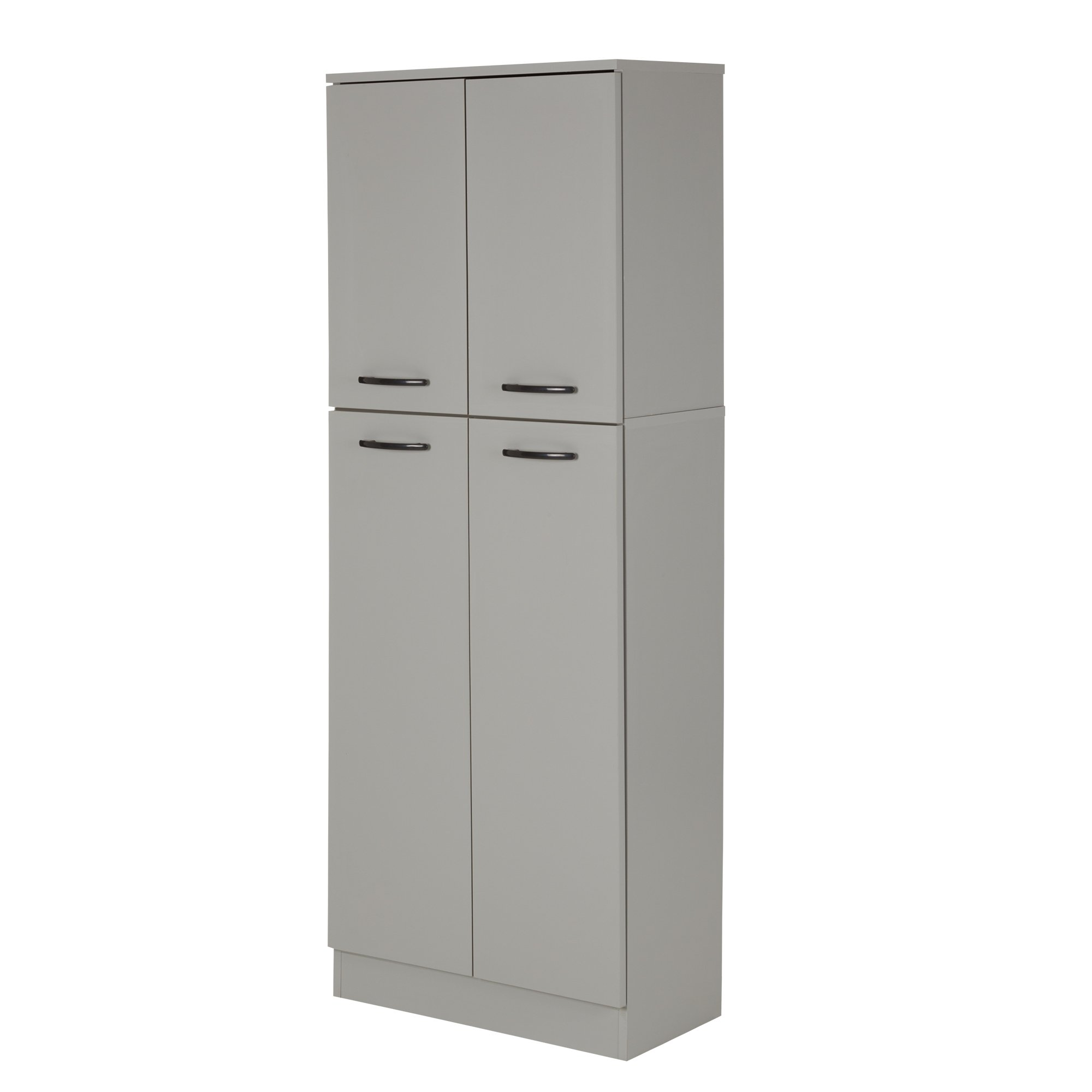 South Shore Axess 4-Shelf Pantry Storage, Soft Gray by South Shore (Image #2)