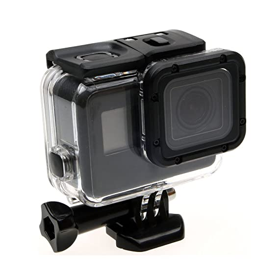 Deylaying 60M Carcasa Sumergible para GoPro Hero 6/Hero 5 ...