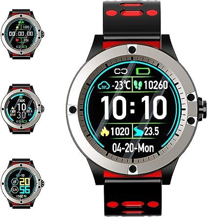 Reloj Inteligente, Smartwatch con Pulsómetro Pulsera Actividad ...