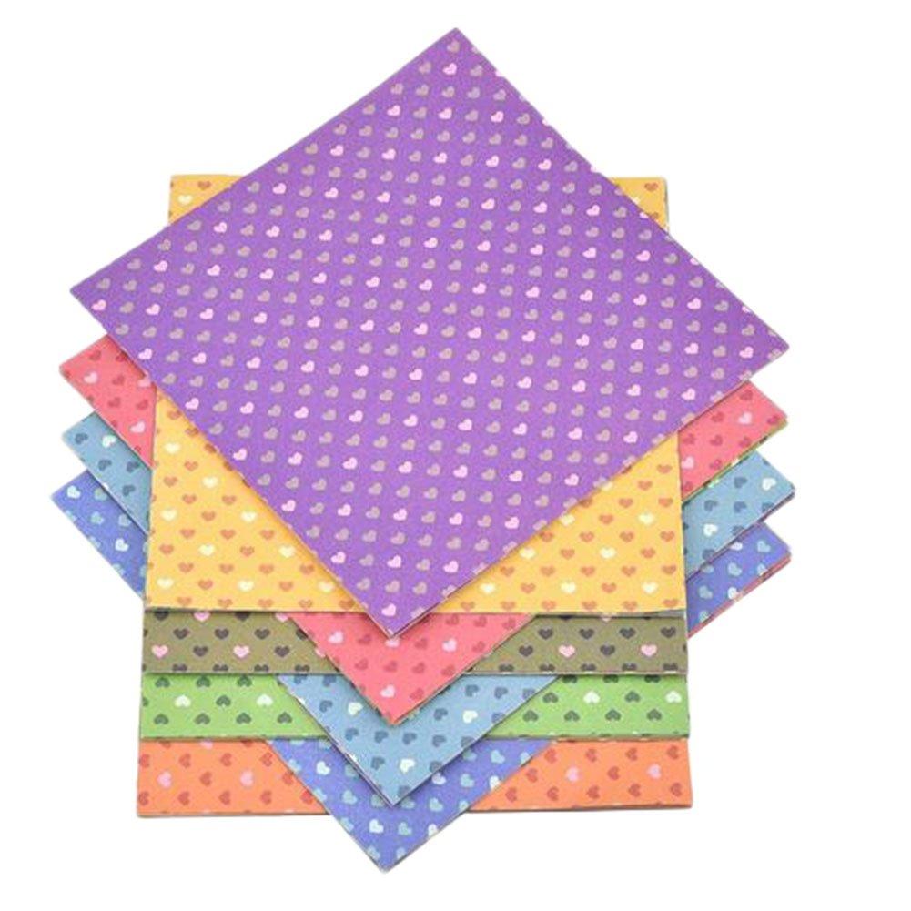 CAOLATOR Papel para Origami Papel De Origami Art Gr/úas 10 Colores 15 x 15 cm 30 Hojas