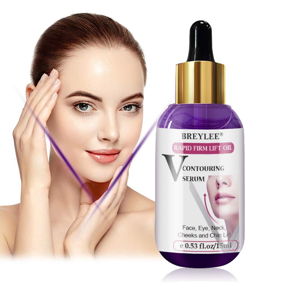 V Line Serum, Chin Up Serum, Double Chin Reducer Chin Serum V Up Contour Tightening Firming Face Lift Serum Neck Serum