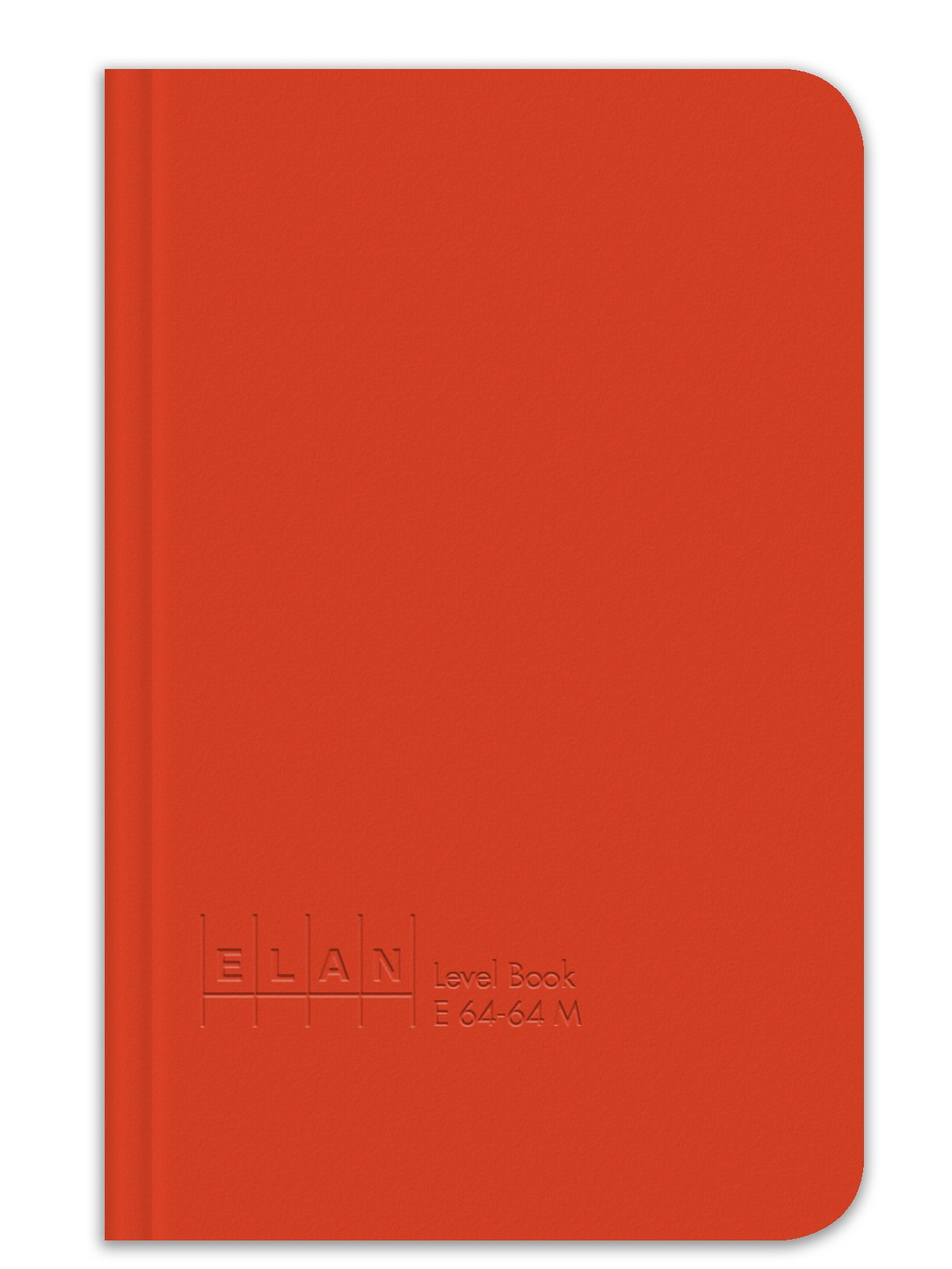 Elan Publishing Company E64-64M Mini Level Book 4 ⅛ x 6 ½, Bright Orange Cover (Pack of 24)