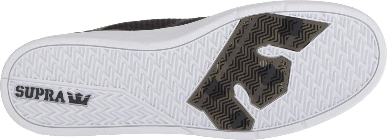 Supra Saint Chaussures Pour Homme Chaussure-Os Noir Blanc Toutes Les Tailles