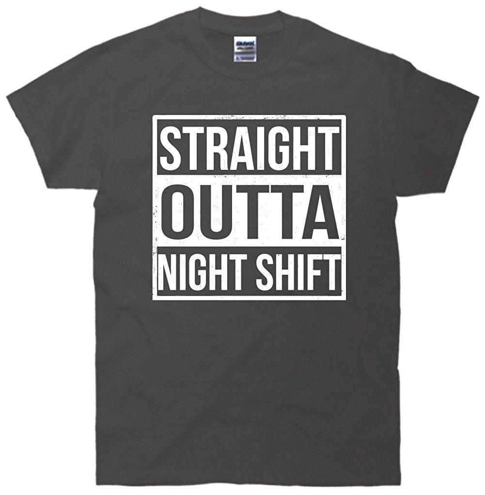 Gao Straight Outta Night Shift Funny Nurse 2183 Shirts