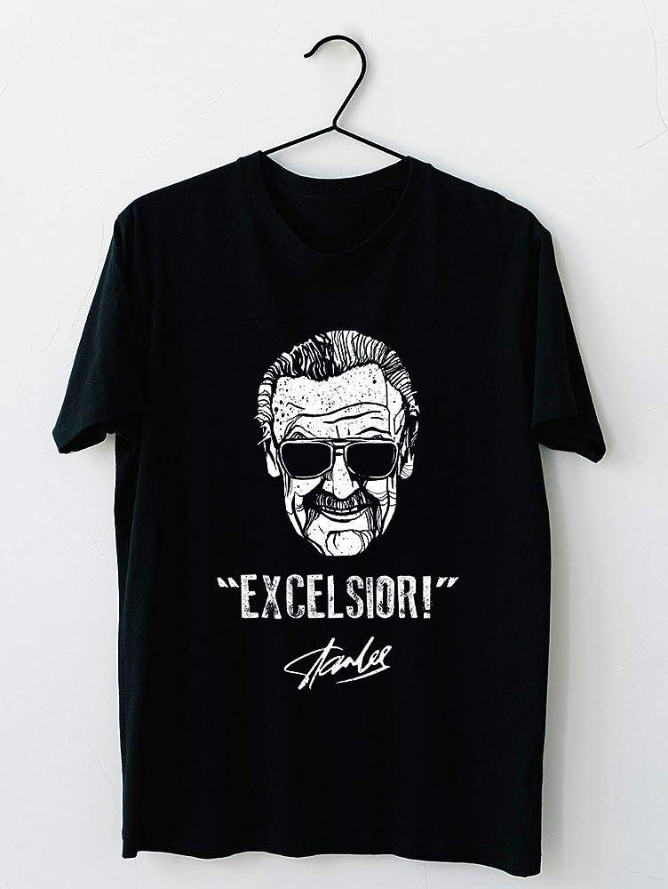 Stan Lee Excelsior Rip Short Sleeve For Men Women Unisex Shirts