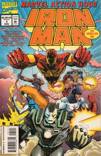 Iron Man (Vol. 1, #1, November 1994)