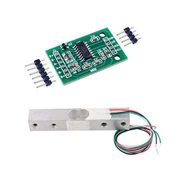 HX711 Weight Sensor AD Module with 2KG Scale Load Cell Weight Weighing  Sensor for Arduino Raspberry Pi DIY