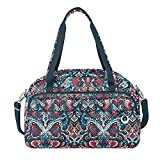 Travelon Women's Anti-Theft Boho Weekender, Summer Paisley