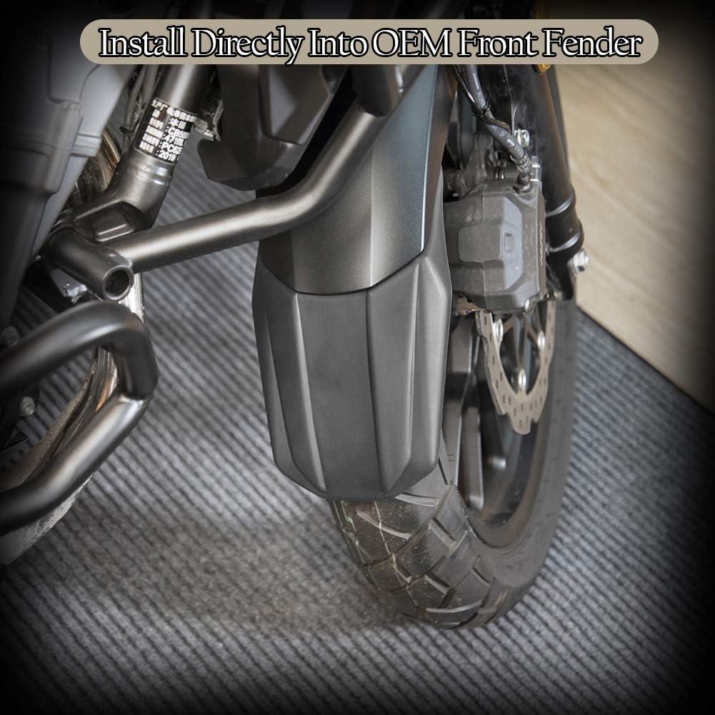 FATExpress CB500X Zubeh/ör Motorrad Motorrad Vorderrad Reifen Hugger Kotfl/ügel Kotfl/ügel Extender Verl/ängerung f/ür Honda CB 500X 2019 2020 19-20