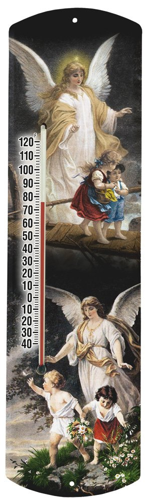 Heritage America by MORCO 375ANG Guardian Angel Outdoor or Indoor Thermometer, 20-Inch
