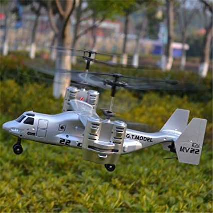 4 Canal Bombardero Control Zgifts 5 Remoto Helicóptero Americano nw0kNOP8X