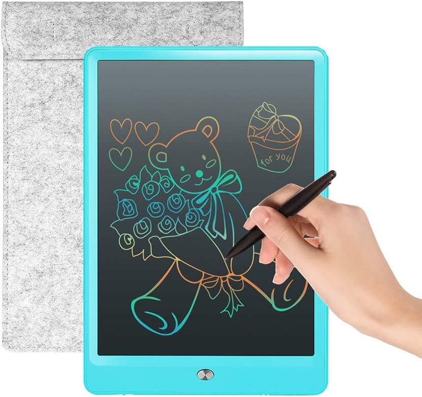 Color : Black, Size : 10 inches HANXIAODONG Electronic Doodle Pads Drawing Board 10 Inches Drawing Board Doodle Board Handwriting Paper Drawing Tablet Gift for Kids