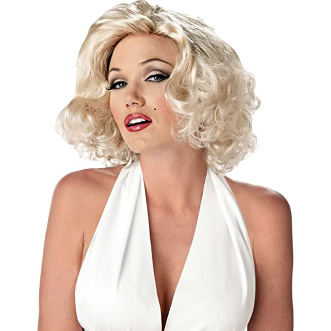 Parrucca Carnevale Halloween Sexy Marilyn Monroe Donna Amazon It