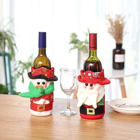 Amosfun 1pc Nieve Navidad víspera de Navidad recicla el ...