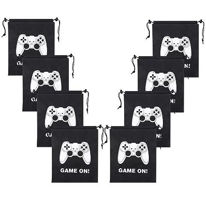 Amazon.com: Aresmer - Bolsas de videojuegos con cordón para ...
