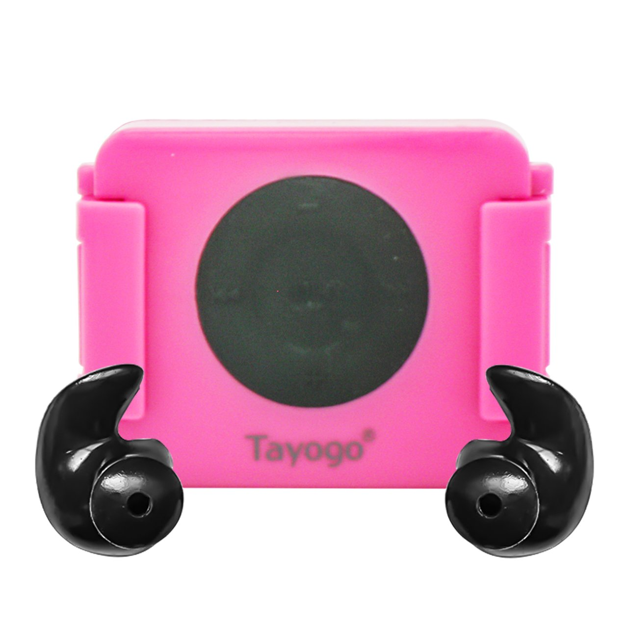 Tayogo iPod Shuffle Case, iPod Shuffle 4th Generation 100% Waterproof Case for Swimming, Surfing, Boating, Running, etc.-Pink