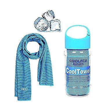 Audel, toalla de enfriamiento para limpiar el sudor y experimentar un alivio instantáneo, en deportes de ...