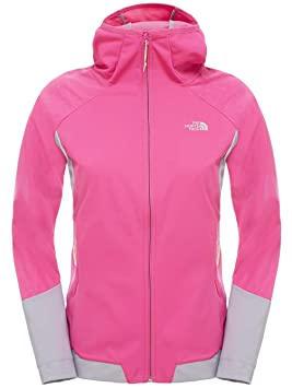 The North Face Sweatshirt W Aterpea Full Zip Hoodie Sudadera, Mujer, Rojo (Rasbery Rose), M: Amazon.es: Deportes y aire libre