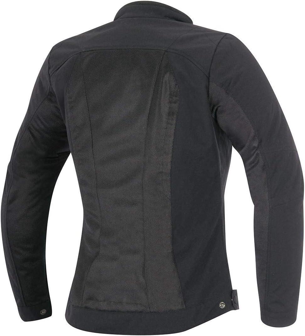 Farbe schwarz Alpinestars Eloise Motorraddamenjacke Sommer Gr/ö/Ã/Ÿe S