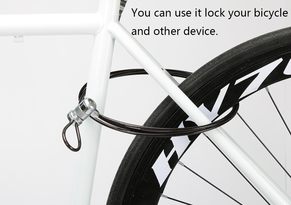 Laptop Lock Notebook Lock Computer Lock Security Cable Lock Keyed Cable Lock for Laptops Desktop Notebook /& Other Device