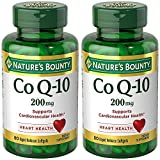 Co Q-10 200 mg, 80 Rapid Release Softgels (2 Bottles)