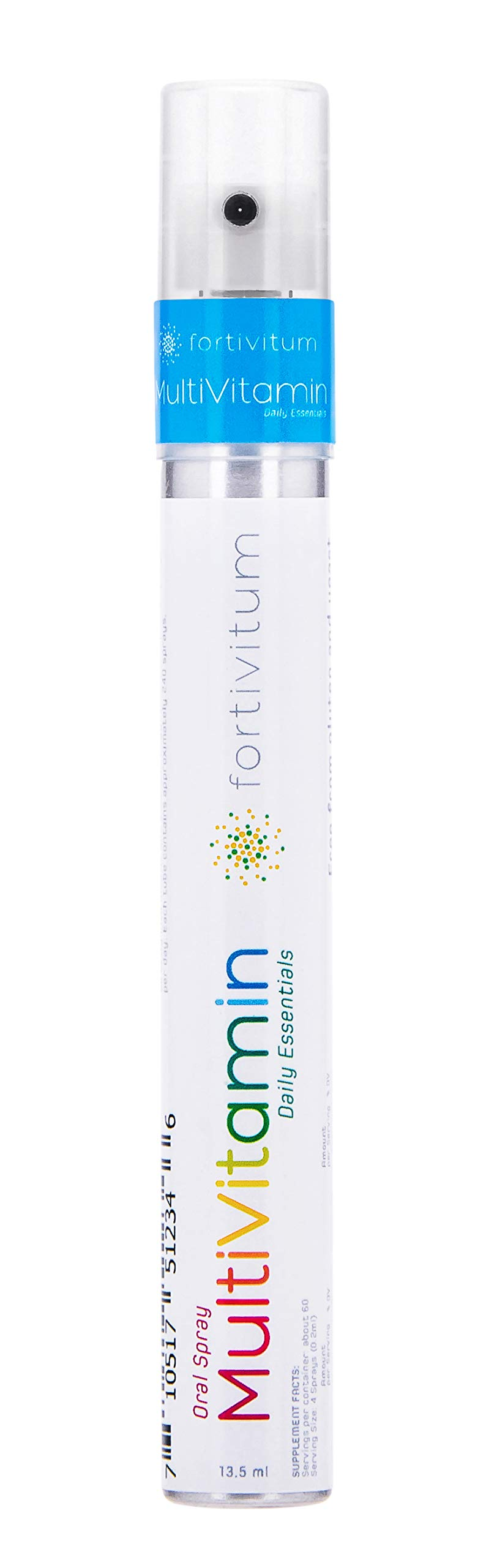 MultiVitamin Oral Spray by FortiVitum   Suitable for Men and Women   Naturally High Absorption Rate