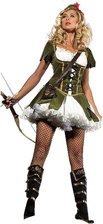 shoperama Robin Hood 2 para Disfraz de Mujer Peter Pan Cuento de ...
