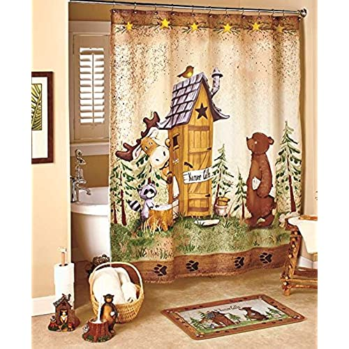 GetSet2Save Nature Calls Shower Curtain