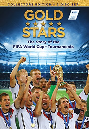 61ILznwxzZL - Gold Stars: The Story of the FIFA World Cup Tournaments