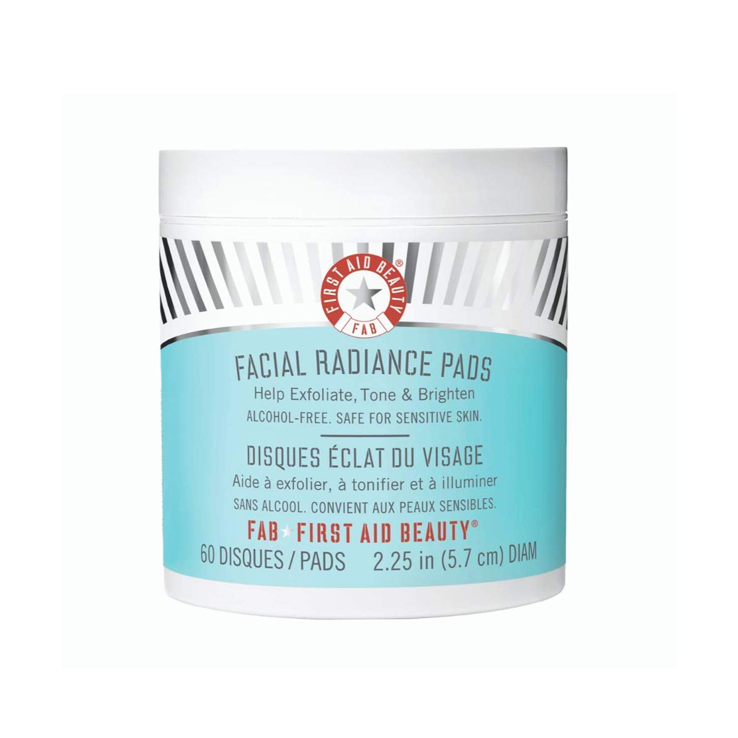 Amazon.com : First Aid Beauty Facial Radiance Pads, Exfoliating Pads with  AHA, 60 Count : Facial Treatment Products : Premium Beauty
