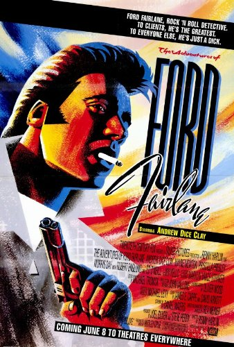 adventures of ford fairlane poster
