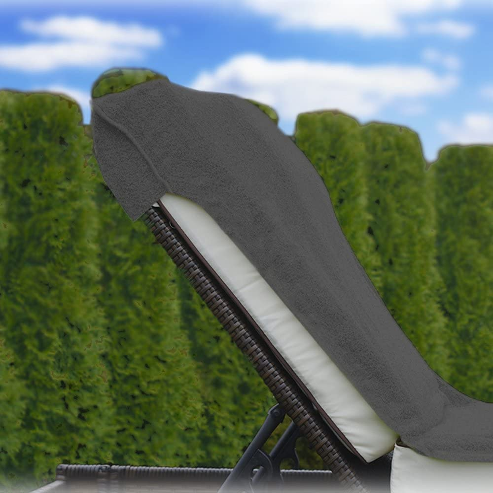 Jemidi copertura per lettino da giardino in spugna 75/cm x 200/cm