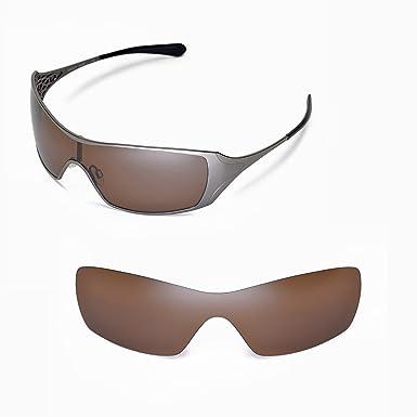 9d4e3b028 Walleva Replacement Lenses for Oakley Dart Sunglasses - Multiple Options  (Brown - Polarized)