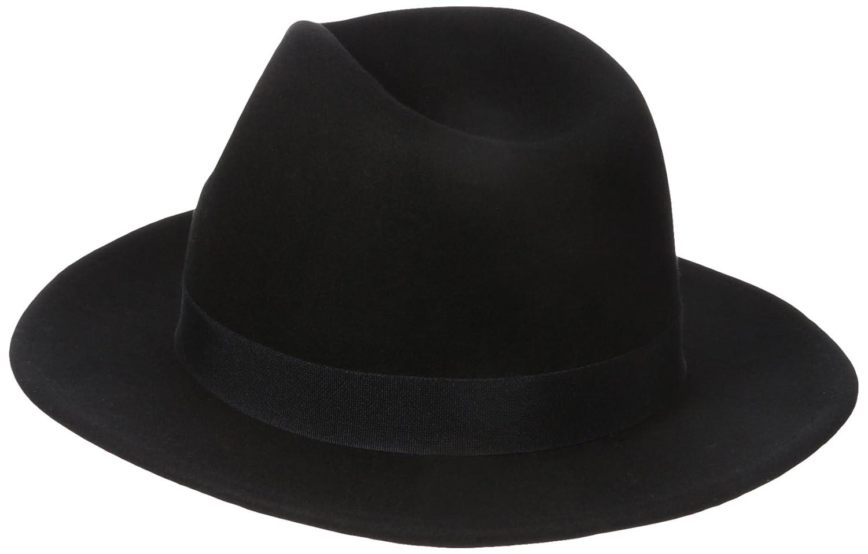 df4f3a4c41bf1 Nine West Women s Felt Flat Brim Fedora Hat
