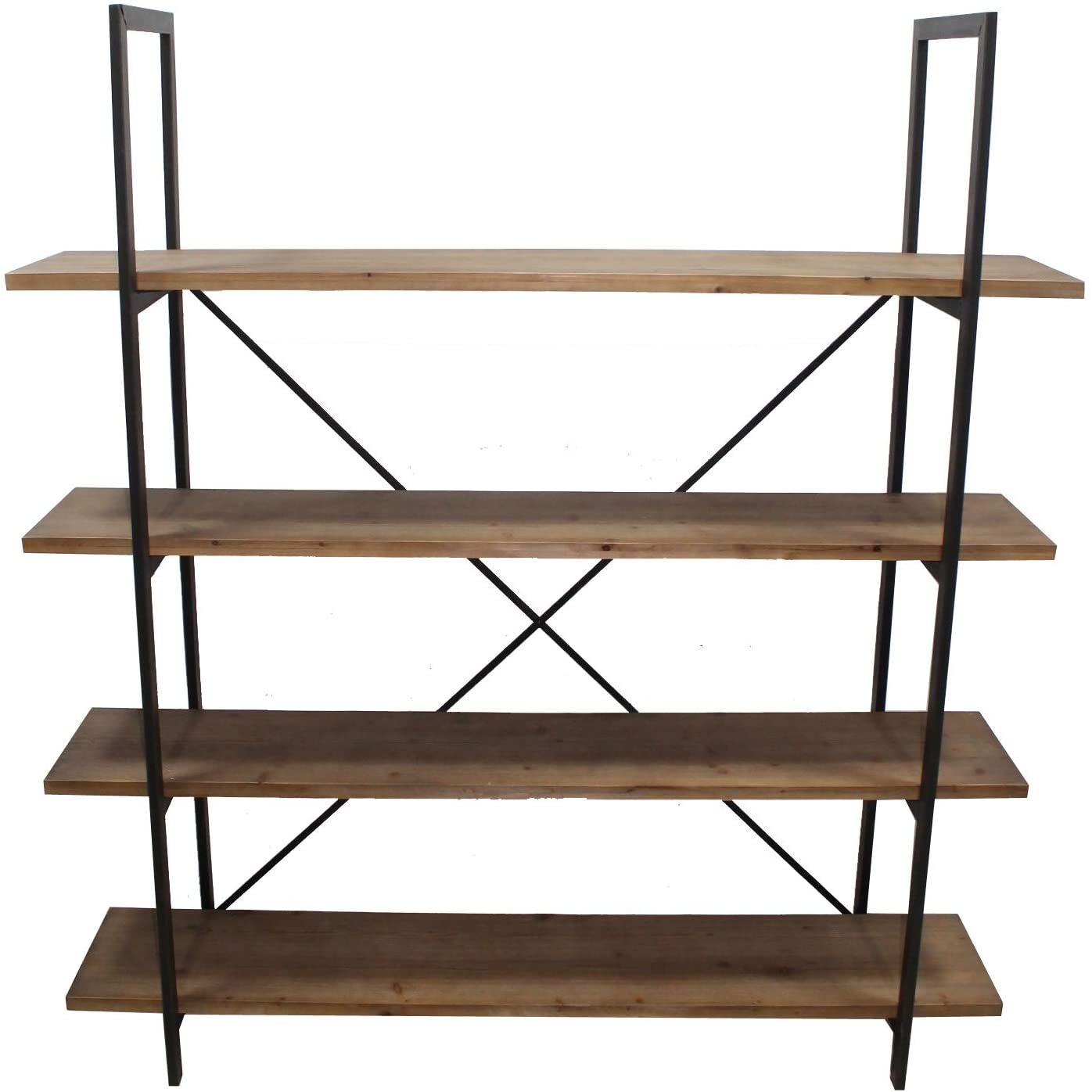 Christopher Knight Home Chelsea Antique Firwood and Iron Bookcase