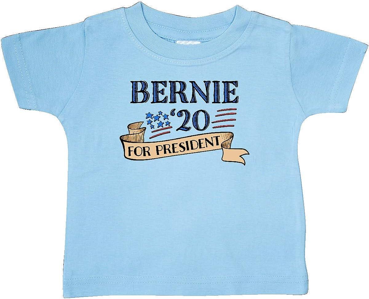 inktastic Bernie Sanders 20 for President Baby T-Shirt