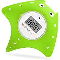 MotherMed Baby Bath Thermometer and Floating Bath Toy Bathtub Safety Temperature Thermometer Green Fish Only for…